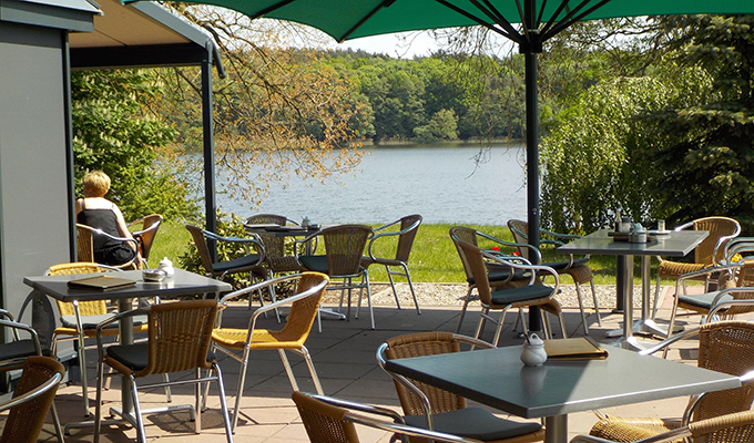 Seeblick Cafe am Wockersee