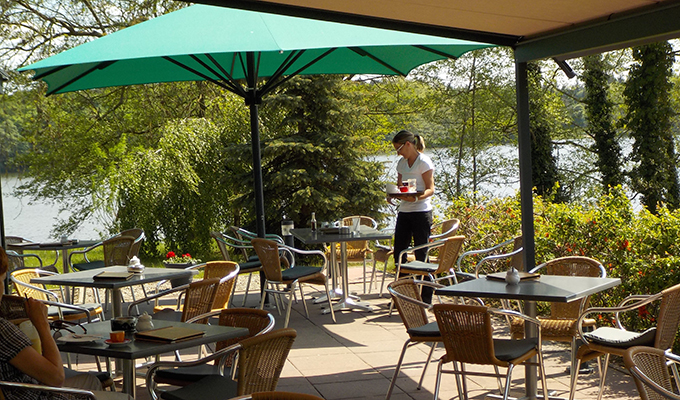 Terrasse Cafe am Wockersee