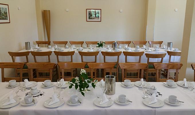 festliche Tafel Cafe am Wockersee